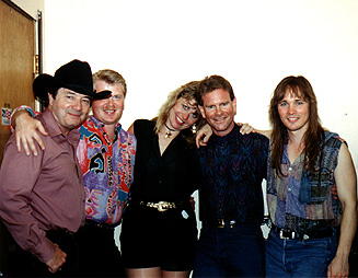 Chris Eaton with Diana Cox Band