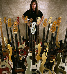 Chris Eaton with Bass Collection